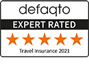 5 Star rating by Defaqto for our 'Super Duper' level of cover
