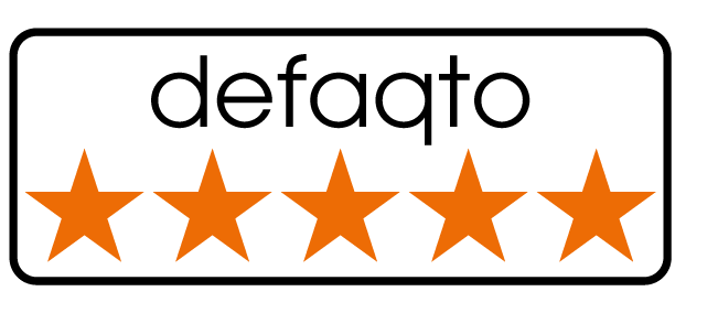 Defaqto 5 Star Rating for Free Spirit 'Super Duper' level of cover