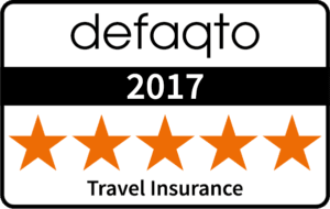 Defaqto 5 Star Rated Travel Insurance