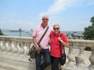 Two of our Free Spirits in Budapest, Hungary