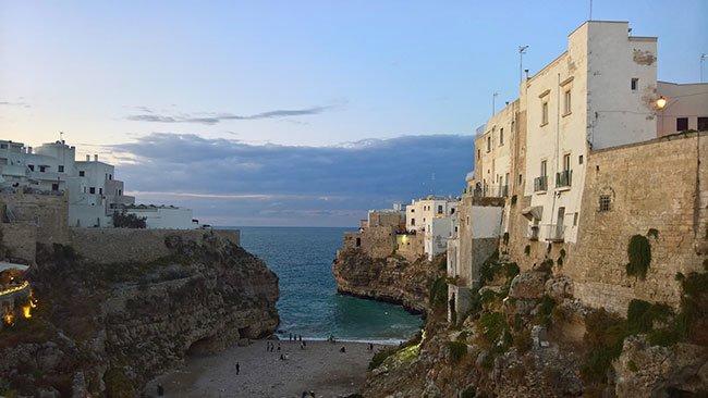 Beach in Sicily, Italy