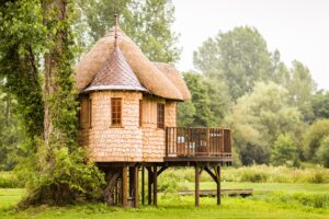 family activity holidays with tree houses