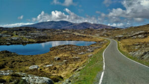 road in the Outer Hebrides