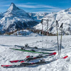 equipment for a ski holiday in Scotland