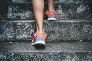 step up for a healthy heart