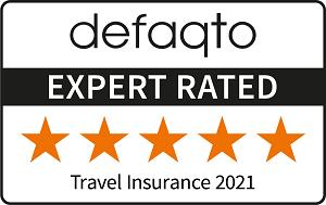 Free Spirit 5 star Defaqto Travel Insurance