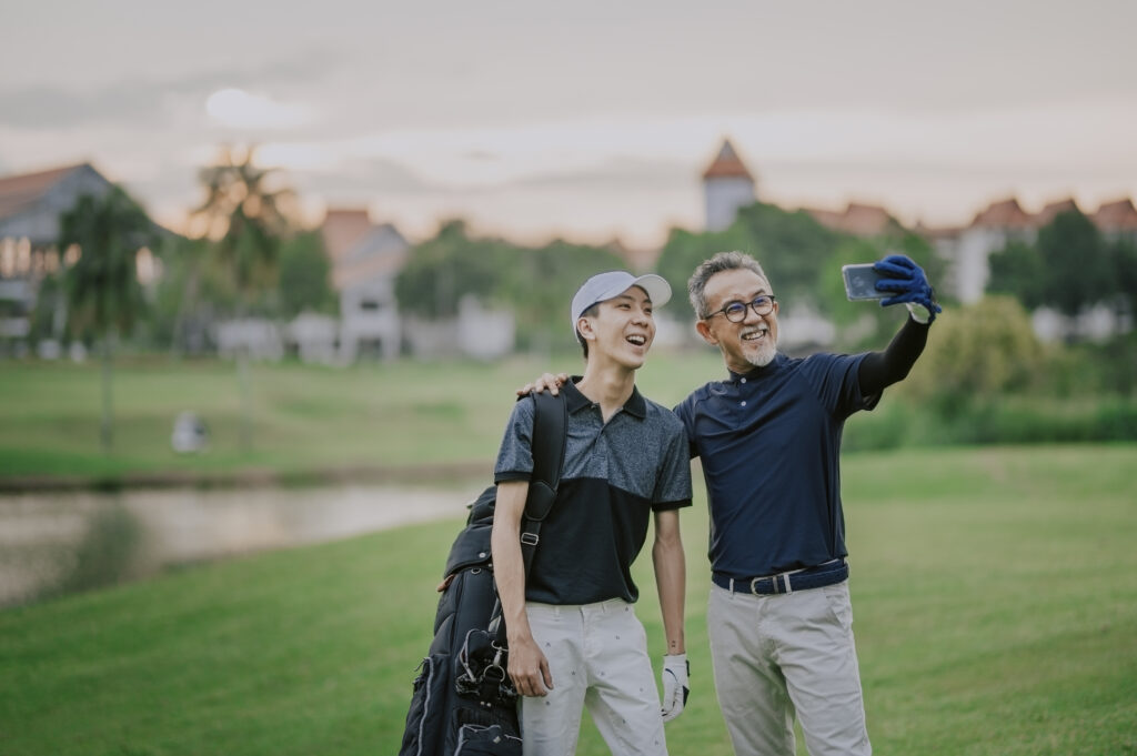 golf holidays for families