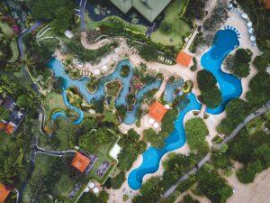 villa holidays near waterparks
